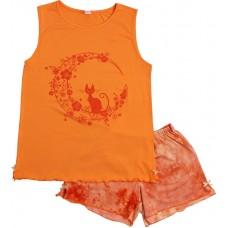 Пижама для девочек Valeri-tex 0015-55-129-011 Оранжевый