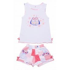 Пижама для девочек Valeri-tex 0015-55-242-008 Голубой