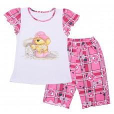 Пижама для девочек Valeri-tex 0016-55-142-002 Белый