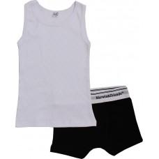 Комплект для мальчиков Valeri-tex 0019-99-006-002 Белый