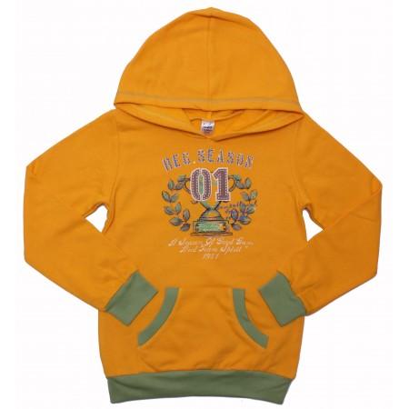 Толстовка Valeri-tex 0159-55-057-010-2 Желтый