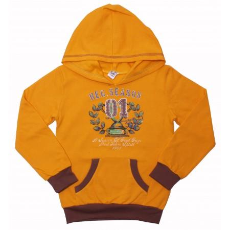 Толстовка Valeri-tex 0159-55-057-010-3 Желтый