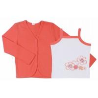 Комплект для девочек Valeri-tex 0442-20-294 Коралловый