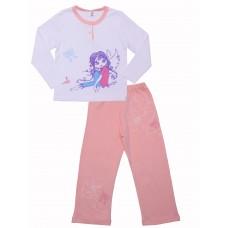 Пижама для девочек Valeri-tex 0485-55-293-2 Белый