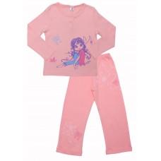 Пижама для девочек Valeri-tex 0485-55-293 Розовый