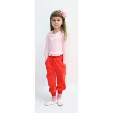 Джемпер для девочек Valeri-tex 0563-99-017-006 Розовый