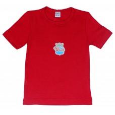 Футболка для девочек Valeri-tex 0569-30-019 Бордовый