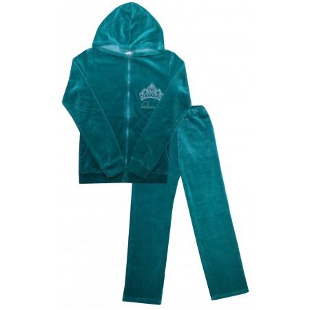 Комплект для девушек Valeri-tex 0631-20-365-1 Бирюзовый