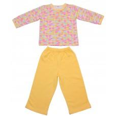 Пижама Valeri-tex 0672-99-152 Желтый