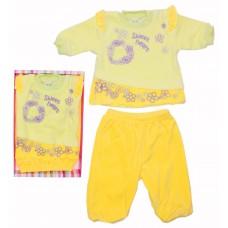 Комплект для девочек Valeri-tex 0699-20-365-2 Лимонный