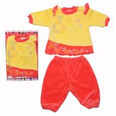 Комплект для девочек Valeri-tex 0699-20-365-3 Оранжевый