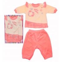 Комплект для девочек Valeri-tex 0699-20-365-4 Персиковый