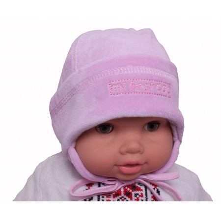 Шапка Valeri-tex 0733-20-365-3 Розовый