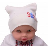 Шапка Valeri-tex 0736-55-296 Молочный