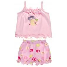 Пижама для девочек Valeri-tex 0794-55-026-1 Розовый