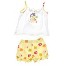 Пижама для девочек Valeri-tex 0794-55-026-2 Белый