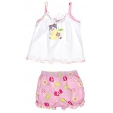 Пижама для девочек Valeri-tex 0794-55-026 Белый