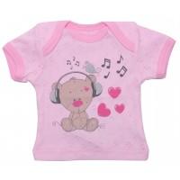 Футболка детская Valeri-tex 0805-55-006-006 Розовый