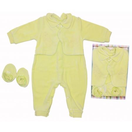 Комплект для мальчика Valeri-tex 0836-20-265 Салатовый
