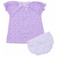 Комплект для девочек Valeri-tex 0841-99-220-1 Сиреневый