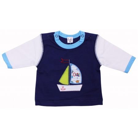 Джемпер для мальчиков Valeri-tex 0862-20-022-1 Синий