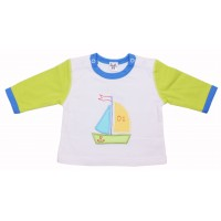 Джемпер для мальчиков Valeri-tex 0862-20-022-3 Белый