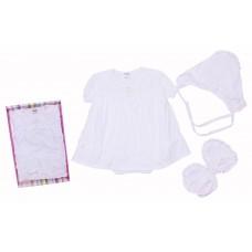 Комплект для девочек Valeri-tex 0884-20-026 Белый