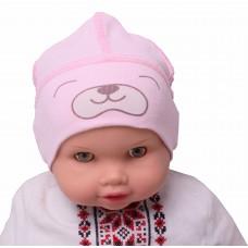 Шапка Valeri-tex 1019-55-296-006 Розовый