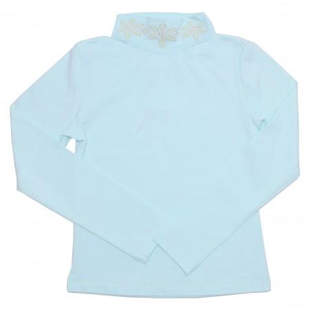 Блузка для девочек Valeri-tex 1078-20-042-038 Ментол