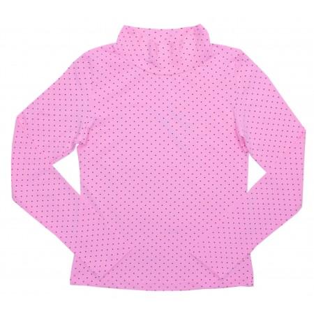 Блузка для девочек Valeri-tex 1078-99-140-027-3 Розовый