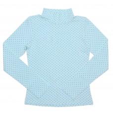 Блузка для девочек Valeri-tex 1078-99-140-027-5 Бирюзовый