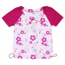 Блузка для девочек Valeri-tex 1197-99-240-1 Белый