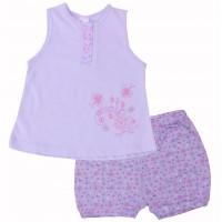 Комплект для девочек Valeri-tex 1204-20-126-1 Сиреневый