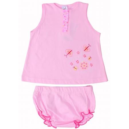 Комплект для девочек Valeri-tex 1204-20-126 Розовый