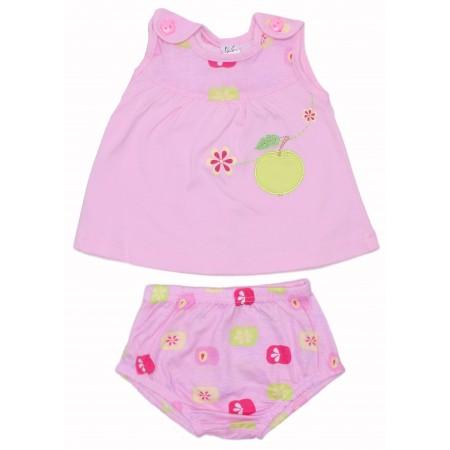Комплект для девочек Valeri-tex 1208-75-026-1 Розовый
