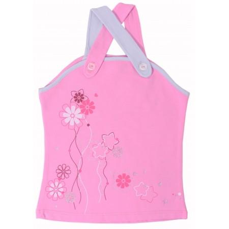 Майка для девочек Valeri-tex 1216-55-042 Розовый