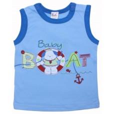 Майка для мальчиков Valeri-tex 1218-55-232-002-1 Голубой