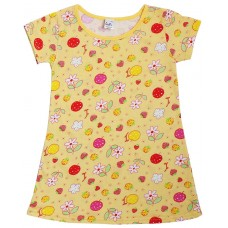 Ночнушка для девочек Valeri-tex 1247-99-127-027-1 Желтый