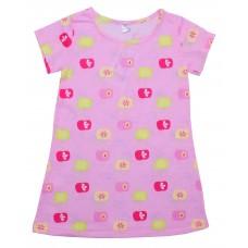Ночнушка для девочек Valeri-tex 1247-99-127-027-2 Розовый
