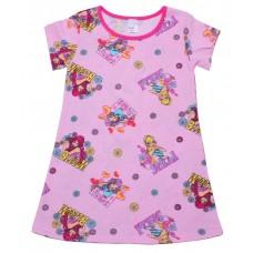 Ночнушка для девочек Valeri-tex 1247-99-127-027-4 Розовый