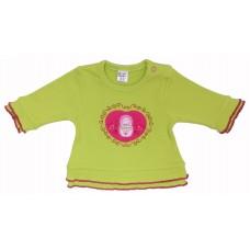 Блузка для девочек Valeri-tex 1267-20-305 Салатовый