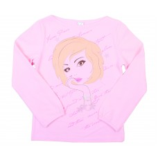 Блузка для девочек Valeri-tex 1369-75-042-006 Розовый