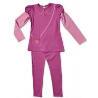 Комплект для девочек Valeri-tex 1383-55-042 Розовый