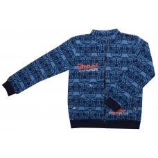 Толстовка для мальчиков Valeri-tex 1424-55-357-1 Синий