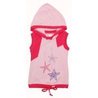 Жилет для девочек Valeri-tex 1442-75-142-4 Розовый