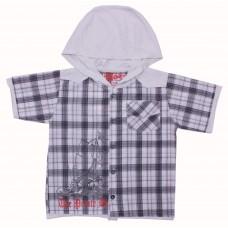 Рубашка для мальчиков Valeri-tex 1449-55-321-1 Серый