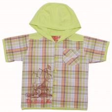Рубашка для мальчиков Valeri-tex 1449-55-321-2 Салатовый