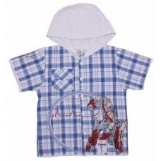 Рубашка для мальчиков Valeri-tex 1466-75-321-2 В ассортименте