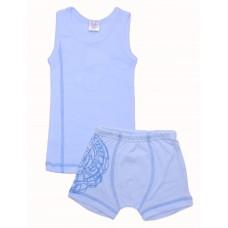 Комплект для мальчиков Valeri-tex 1486-55-017-008 Голубой