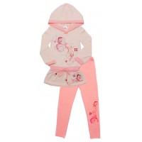 Комплект для девочек Valeri-tex 1487-55-042-1 Молочный